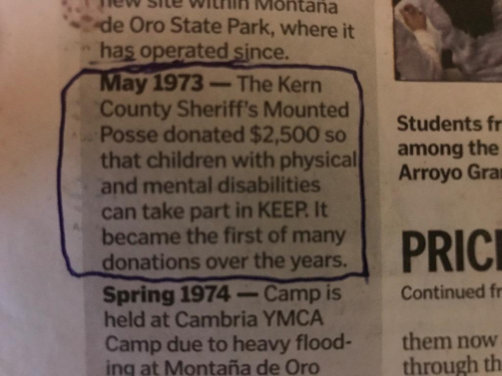 Camp Keep 1973